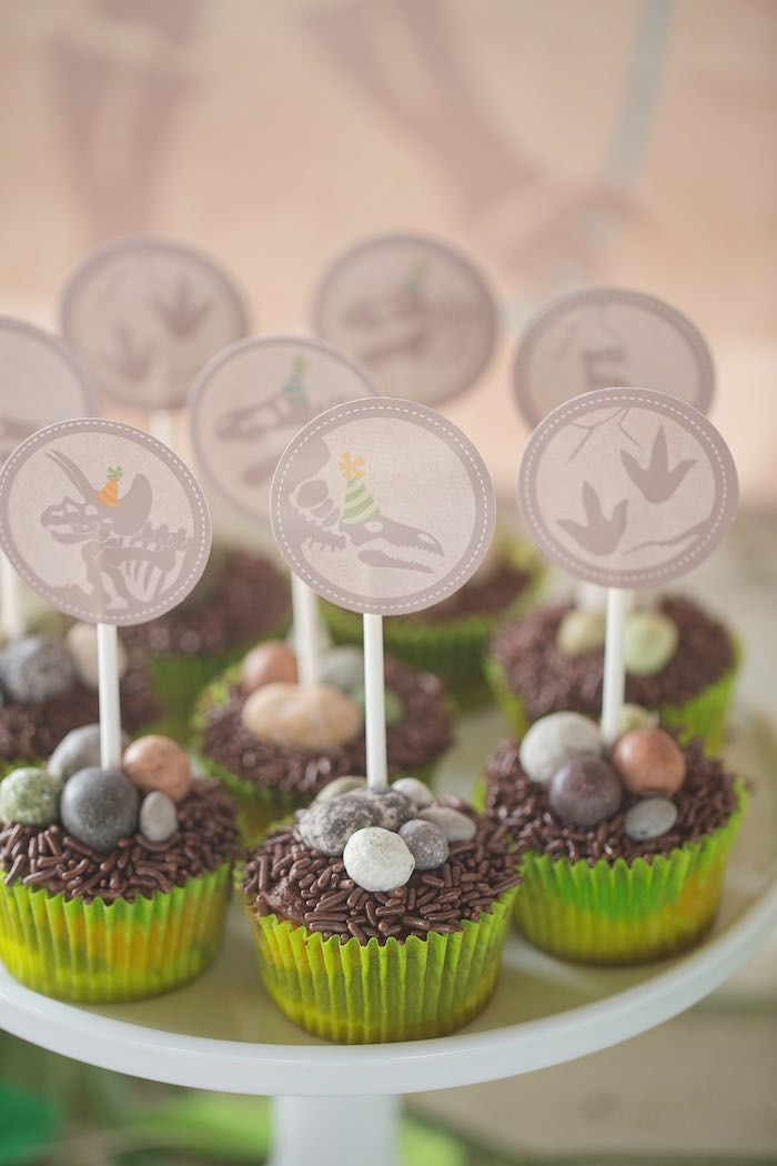 Best ideas about Birthday Decorations Ideas . Save or Pin Kara s Party Ideas Modern Dinosaur Birthday Party Now.