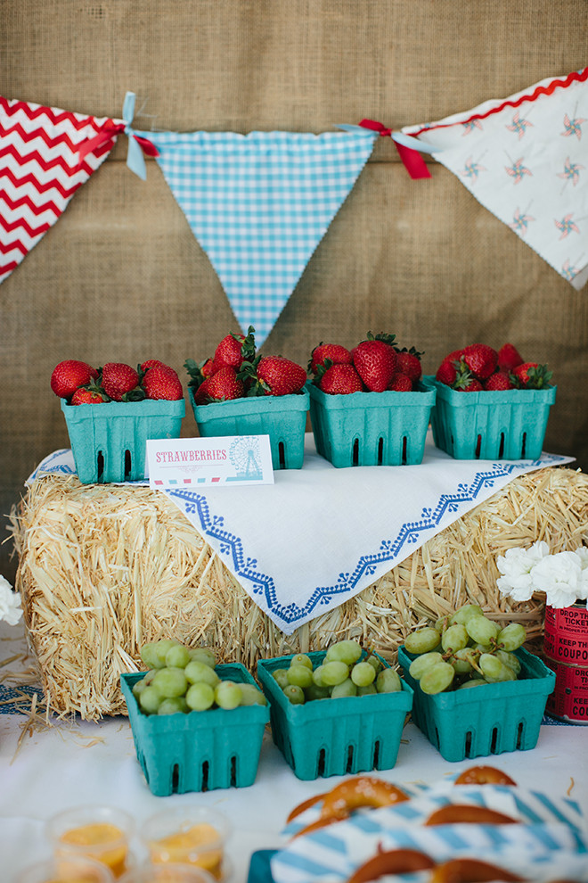 Best ideas about Birthday Decorations Ideas . Save or Pin Party Feature Vintage Country Fair Party Now.