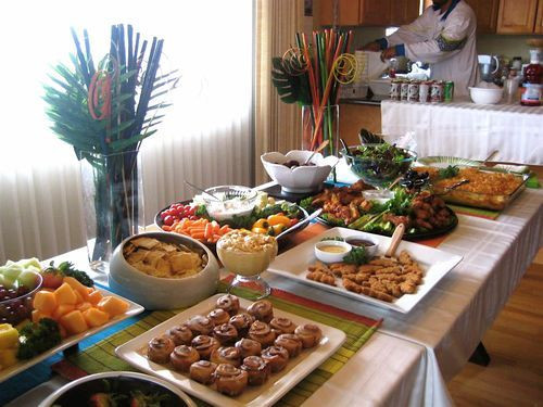 Best ideas about Birthday Dinner Ideas For Adults . Save or Pin Inexpensive Finger Food Party Idea Now.