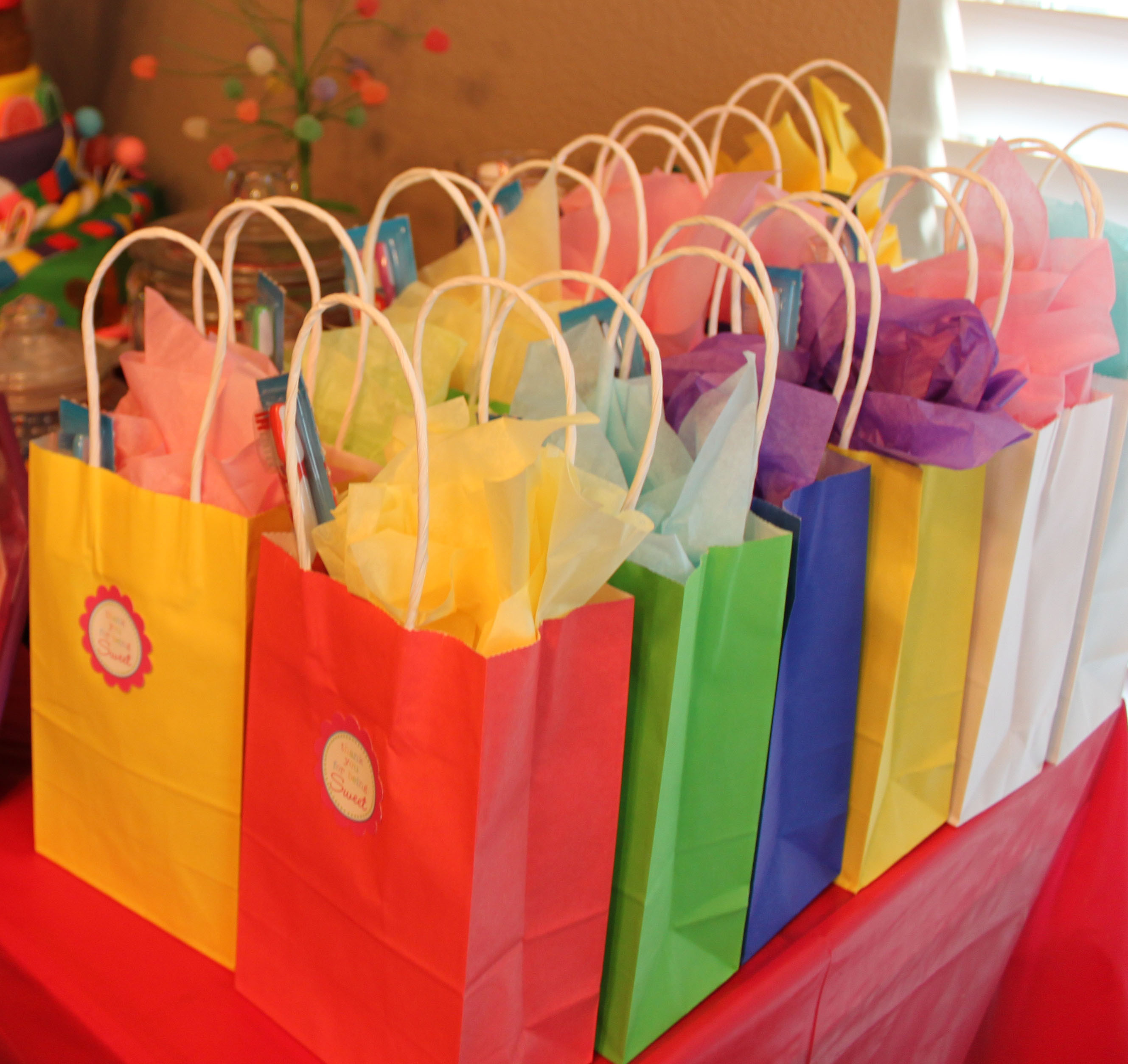 Best ideas about Birthday Gift Bag Ideas . Save or Pin Candy Land Party Now.
