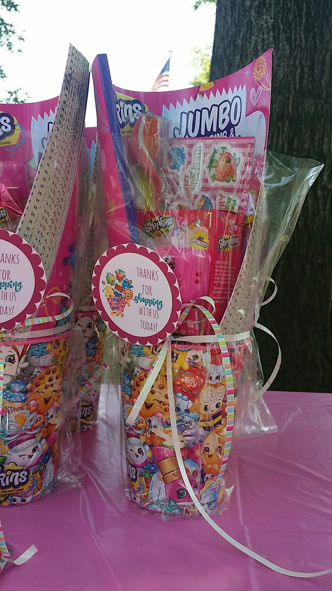 Best ideas about Birthday Gift Bag Ideas . Save or Pin Shopkins birthday party goo bags Now.