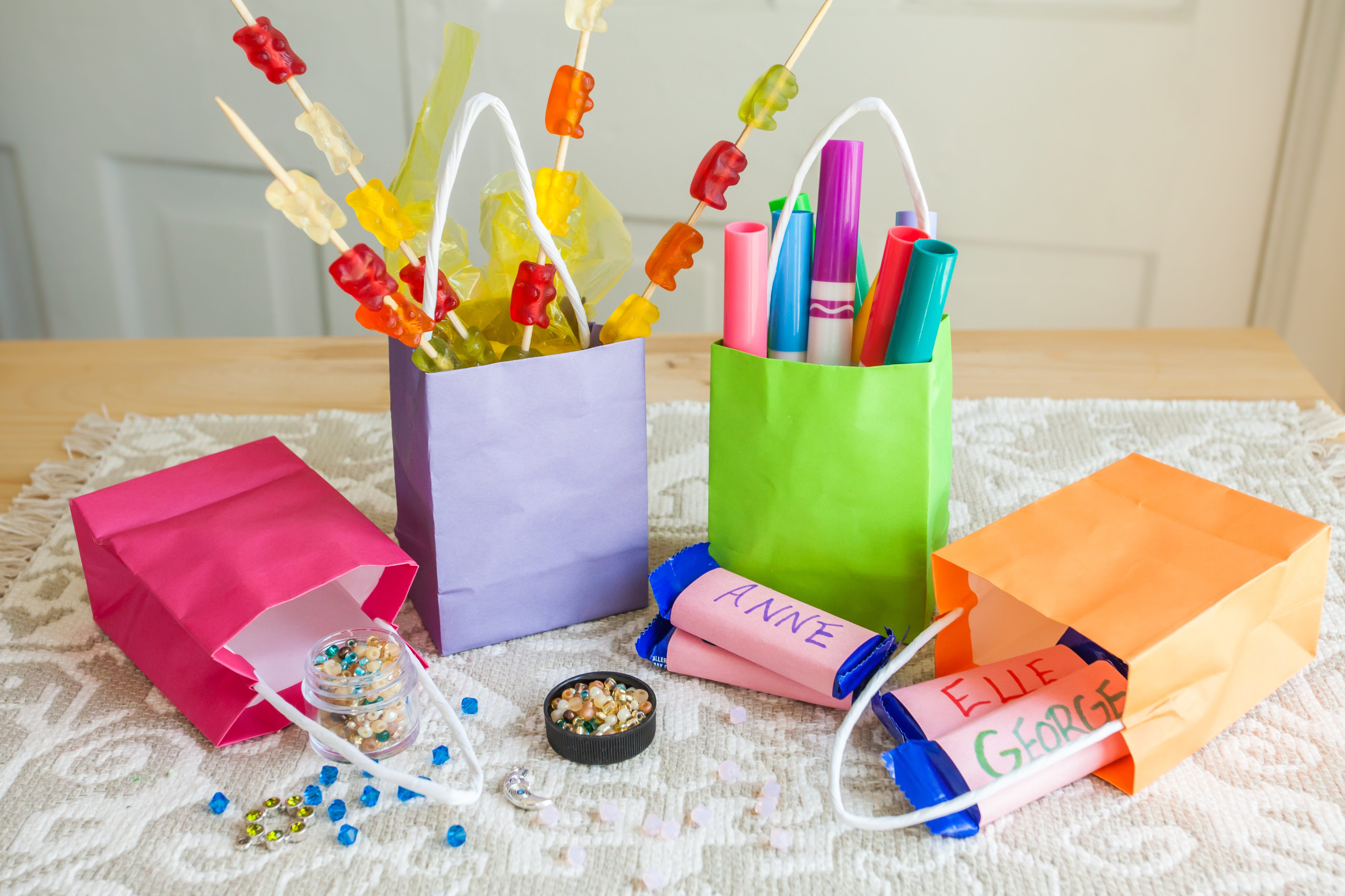 Best ideas about Birthday Gift Bag Ideas . Save or Pin Ideas for Kids Birthday Party Gift Bags with Now.