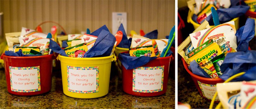 Best ideas about Birthday Gift Bag Ideas . Save or Pin kids birthday party goo bags in a pail Now.