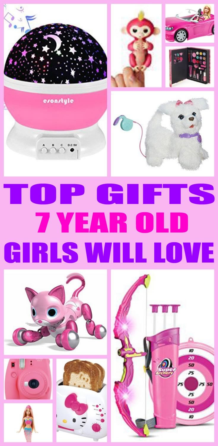 Best ideas about Birthday Gift Ideas For 7 Year Girl . Save or Pin Best Gifts 7 Year Old Girls Will Love Now.