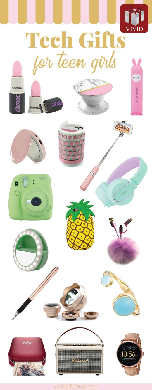 Best ideas about Birthday Gift Ideas For Teen Girls . Save or Pin 20 Best Tech Gifts for Teenagers 20 Coolest Gad s for Now.