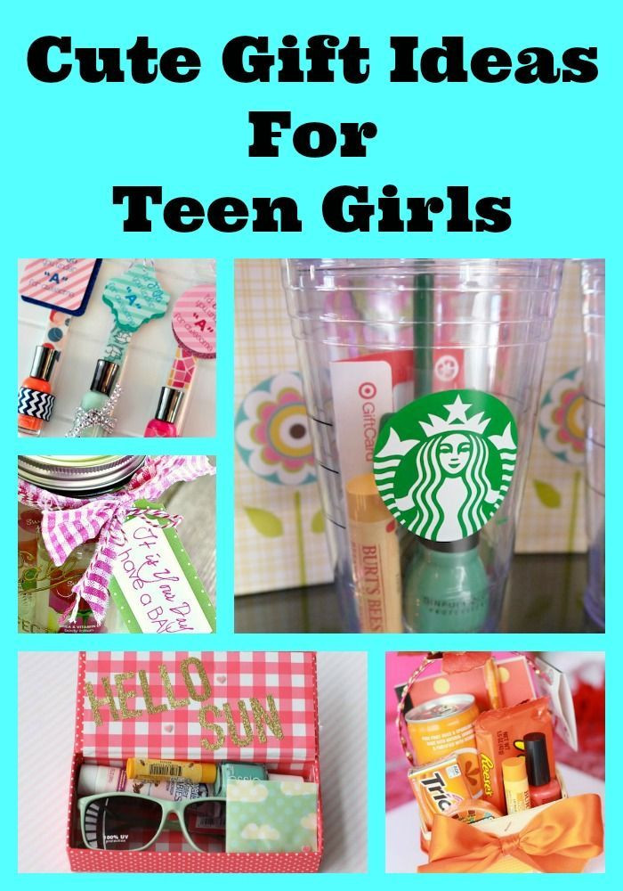 Best ideas about Birthday Gift Ideas For Teen Girls . Save or Pin Cute Gift Ideas For Teens Now.