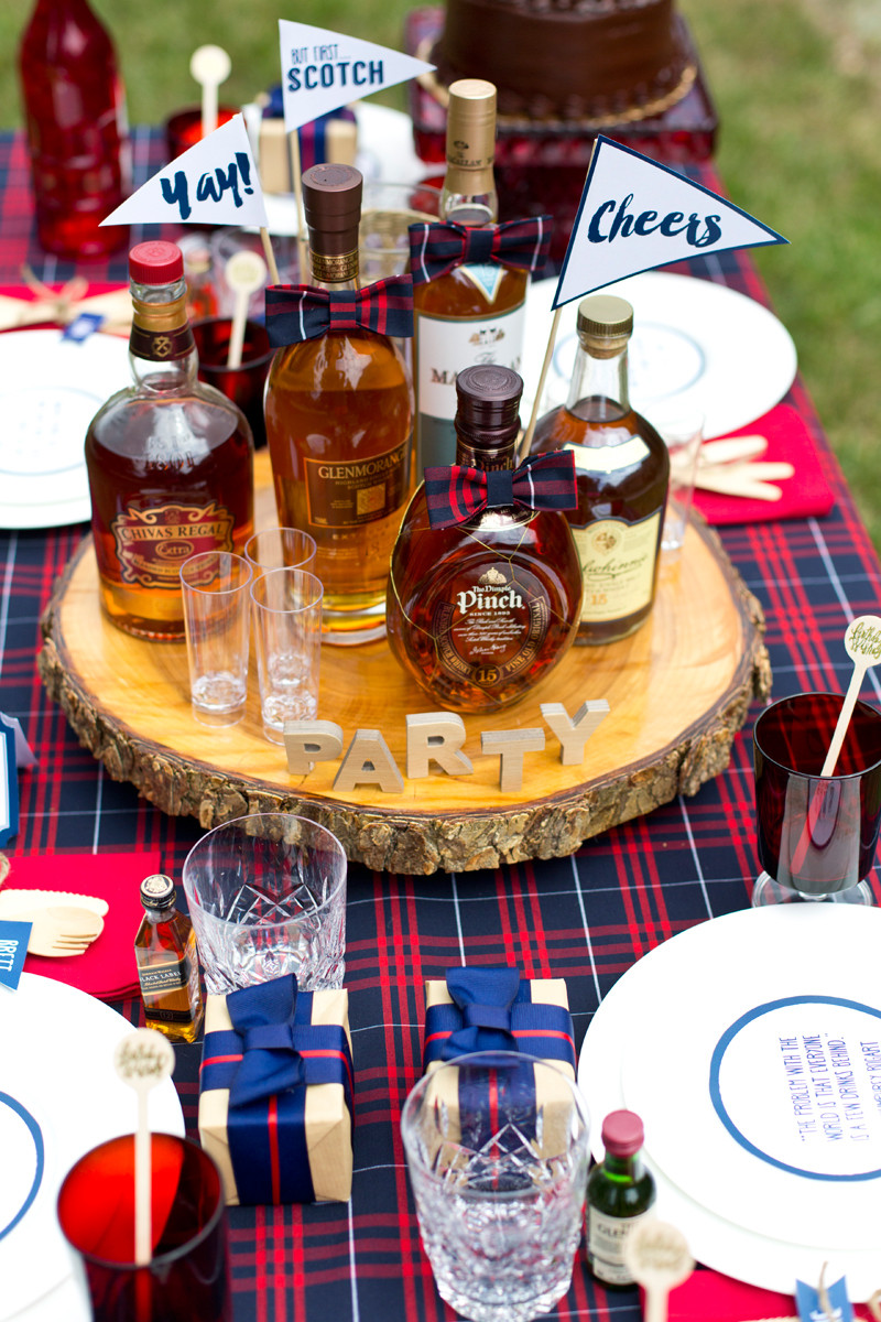 Best ideas about Birthday Party Theme . Save or Pin A Dapper Scotch Themed Birthday Party Now.