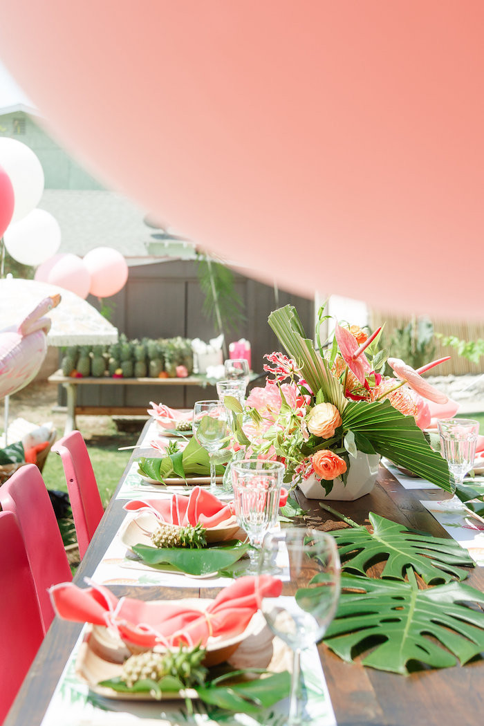 Best ideas about Birthday Party Theme . Save or Pin Kara s Party Ideas Tropical Birthday Party Now.