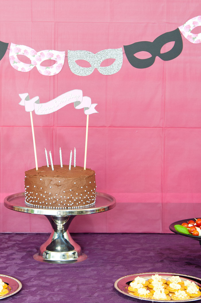Best ideas about Birthday Party Theme . Save or Pin Masquerade Ball Themed Birthday Party a Houseful of Handmade Now.