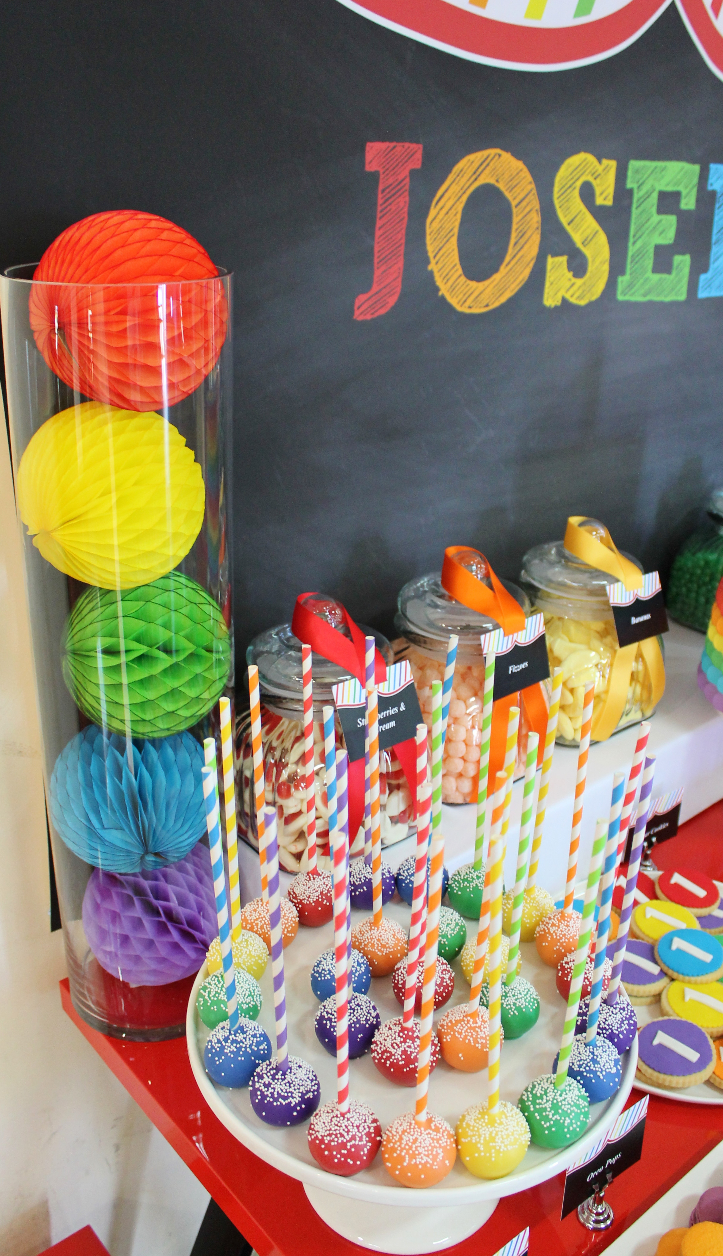 Best ideas about Birthday Party Theme . Save or Pin RAINBOW THEMED BIRTHDAY PARTY Oh It s Perfect Now.