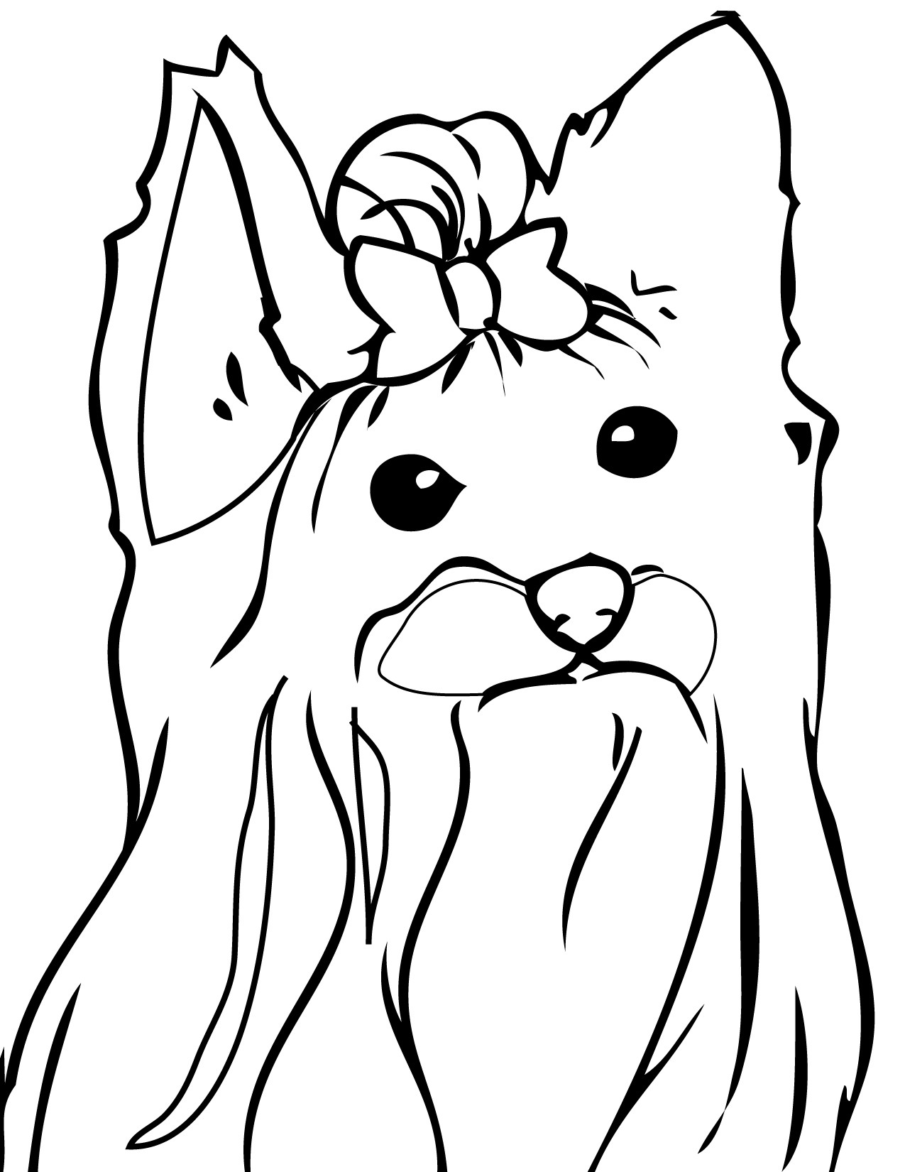Best ideas about Birthday Puppy Coloring Pages For Girls . Save or Pin Dog Coloring Pages Free Coloring Pages In Animals Coloring Now.