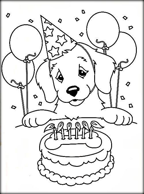Best ideas about Birthday Puppy Coloring Pages For Girls . Save or Pin Free Printable Dog Coloring Pages For Adults Color Zini Now.