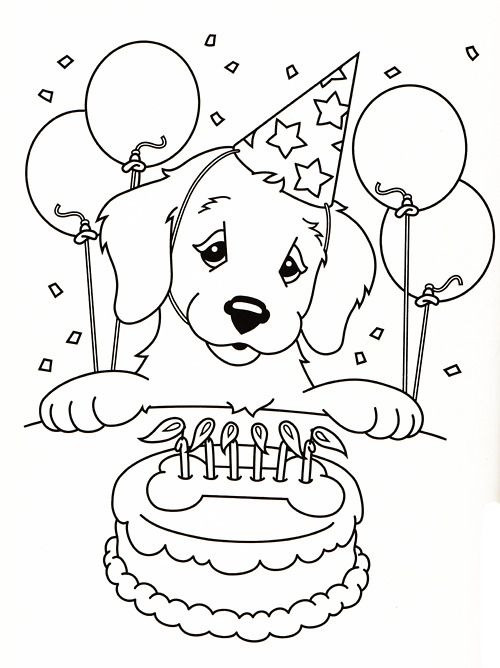 Best ideas about Birthday Puppy Coloring Pages For Girls . Save or Pin Omalovánky pro děti Now.