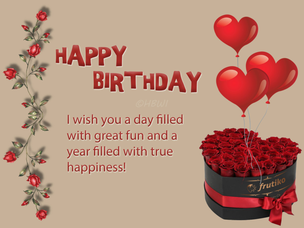 Best ideas about Birthday Wish Pic . Save or Pin New HD Birthday wishes Happy Birthday to you Now.