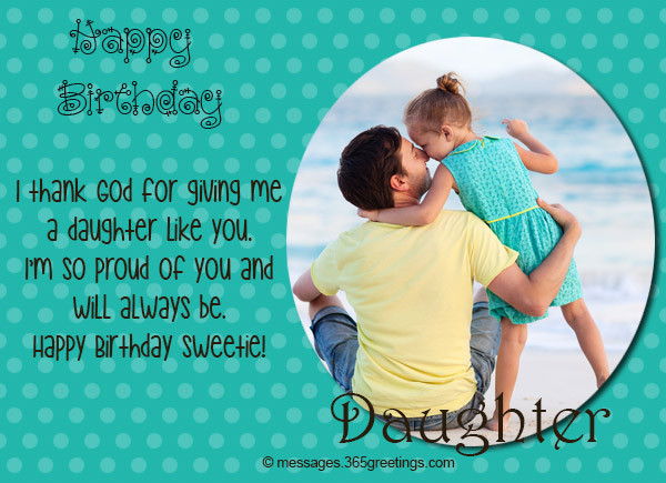 Best ideas about Birthday Wishes For Daughter From Dad . Save or Pin Birthday Wishes for Daughter 365greetings Now.