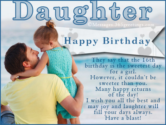 Best ideas about Birthday Wishes For Daughter From Dad . Save or Pin Lovely father birthday wishes for cute little daughter Now.