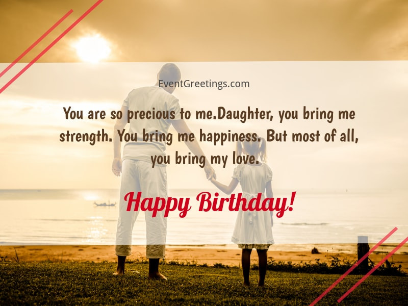 Best ideas about Birthday Wishes For Daughter From Dad . Save or Pin 65 Amazing Birthday Wishes For Daughter From Dad to Now.