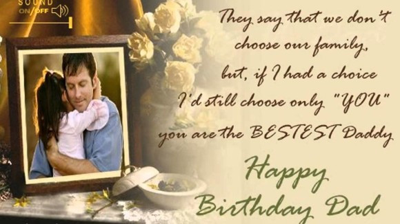 Best ideas about Birthday Wishes For Daughter From Dad . Save or Pin Daughter cuddling to dad birthday wishes card Now.