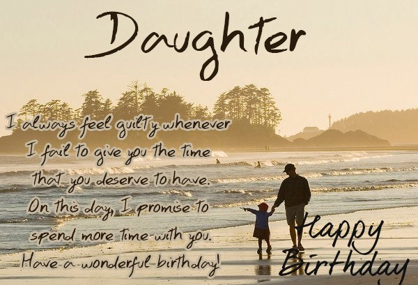 Best ideas about Birthday Wishes For Daughter From Dad . Save or Pin Happy Birthday Daughter Wishes Quotes & Messages Now.