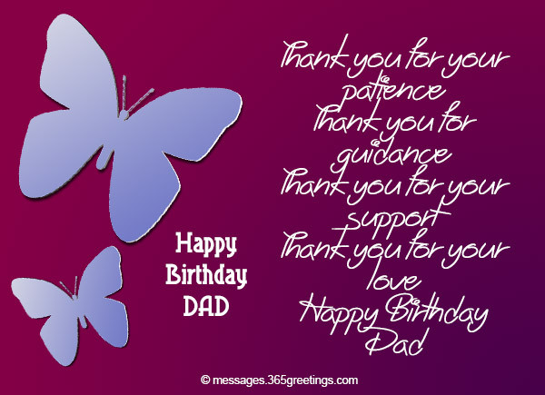 Best ideas about Birthday Wishes For Daughter From Dad . Save or Pin Birthday Wishes for Dad 365greetings Now.