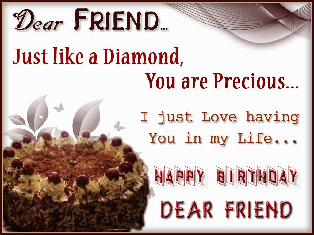 Best ideas about Birthday Wishes To My Friend . Save or Pin 250 Happy Birthday Wishes for Friends [MUST READ] Now.