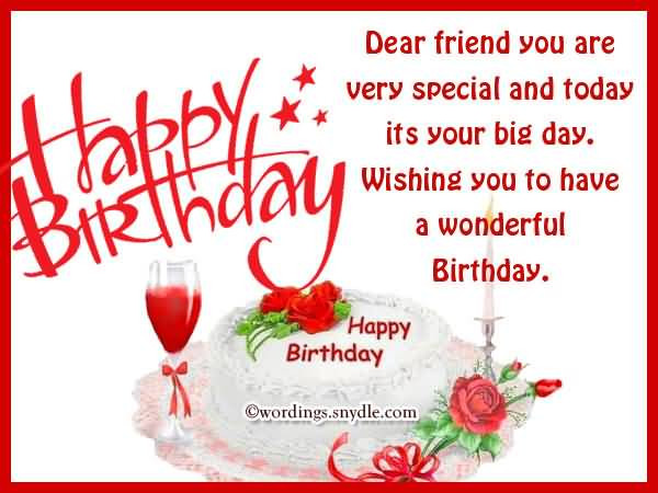 Best ideas about Birthday Wishes To My Friend . Save or Pin Best Friend Birthday Wishes Happy Birthday Quotes Now.