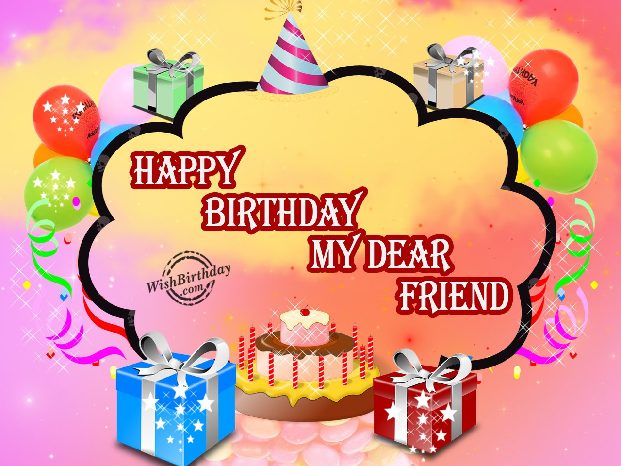 Best ideas about Birthday Wishes To My Friend . Save or Pin Birthday Wishes For Best Friend Birthday Now.