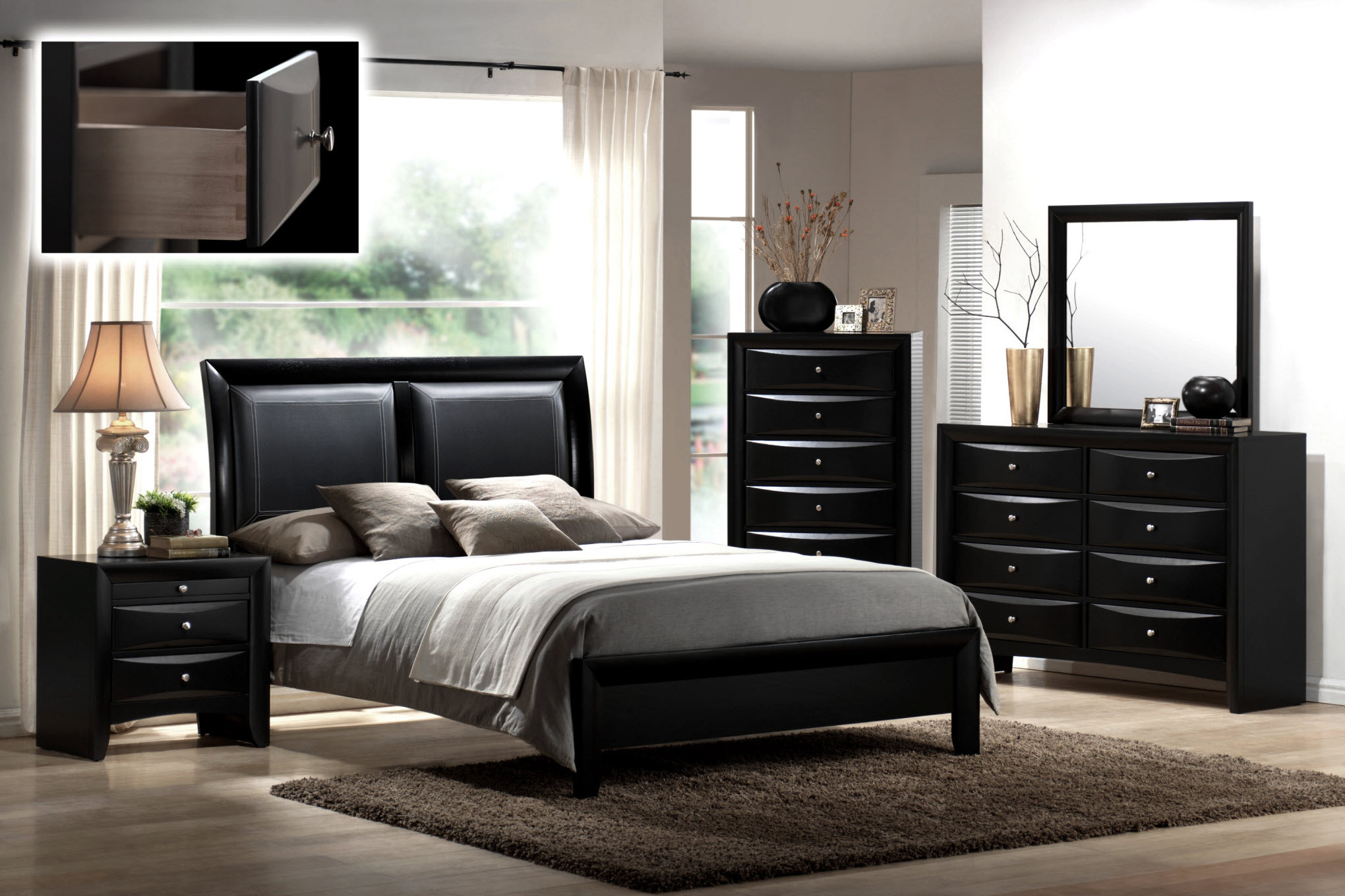 Best ideas about Black Bedroom Set . Save or Pin How to Use Black Bedroom Furniture in Your Interior Now.