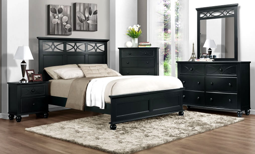 Best ideas about Black Bedroom Set . Save or Pin Black Bedroom Furniture Wood – Womenmisbehavin Now.