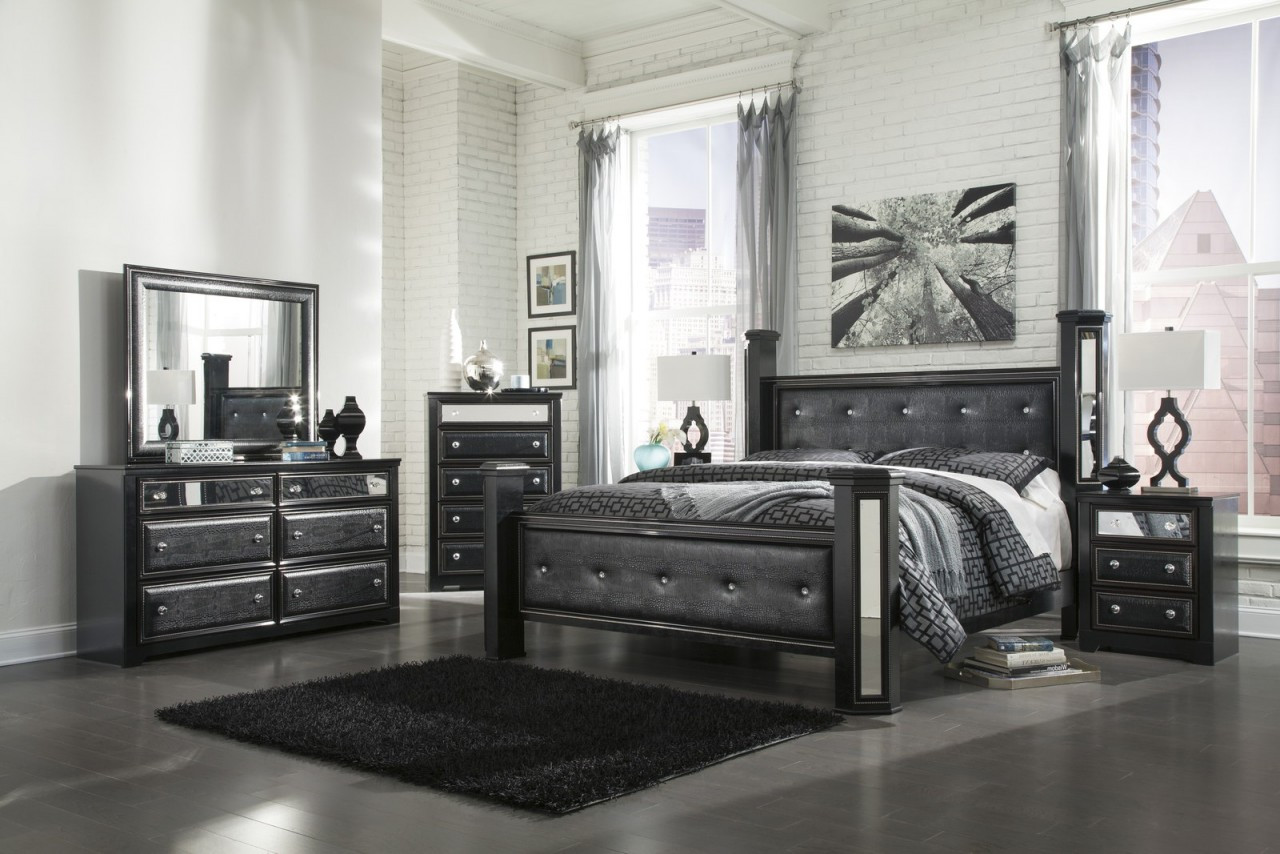 Best ideas about Black Bedroom Set . Save or Pin Ashley Furniture Black Bedroom Set Now.