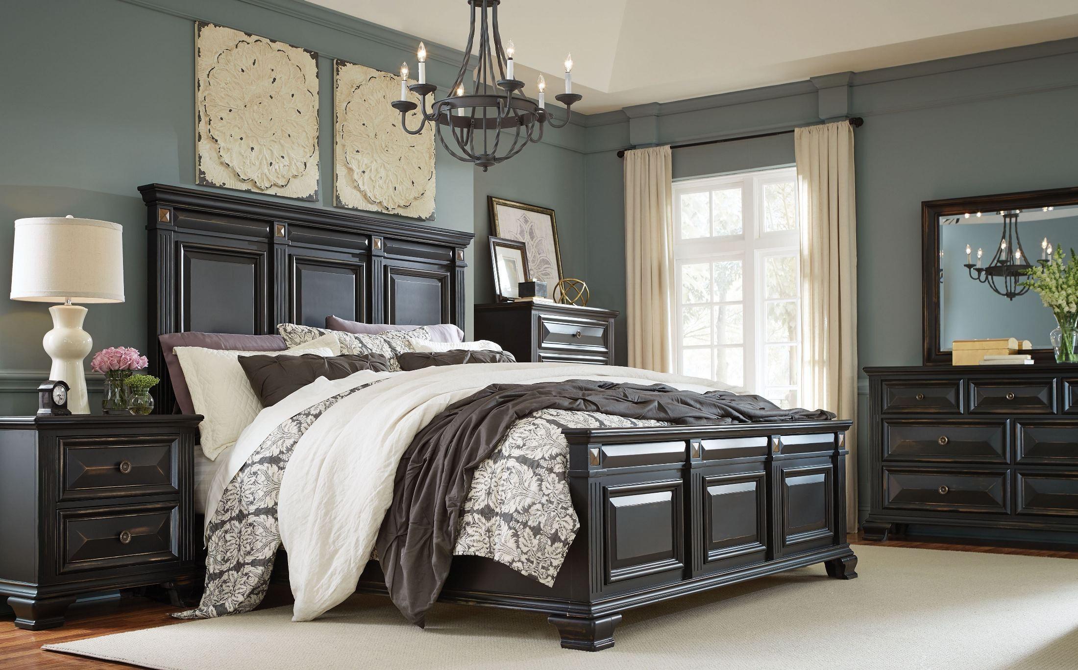 Best ideas about Black Bedroom Set . Save or Pin Passages Vintage Black Panel Bedroom Set from Standard Now.