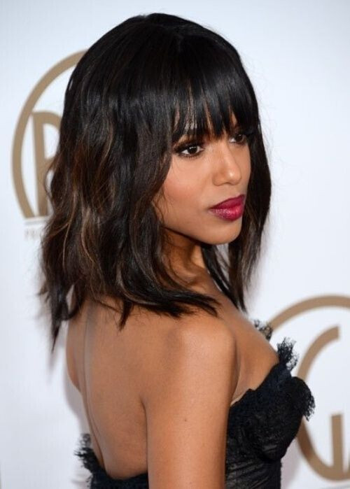Best ideas about Black Hairstyles For Medium Length Hair . Save or Pin 20 Hottest New Highlights for Black Hair PoPular Haircuts Now.