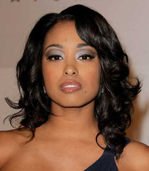 Best ideas about Black Hairstyles For Medium Length Hair . Save or Pin 35 Medium Length Curly Hair Styles Now.