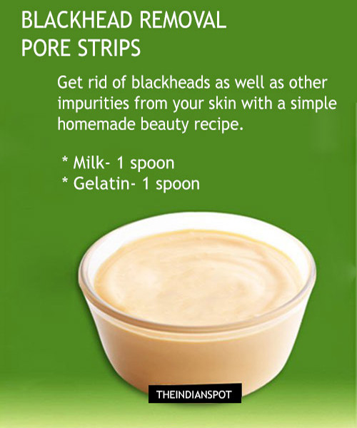 Best ideas about Blackhead Mask DIY . Save or Pin 3 DIY Pore Strips and peel off mask to deep clean pores Now.