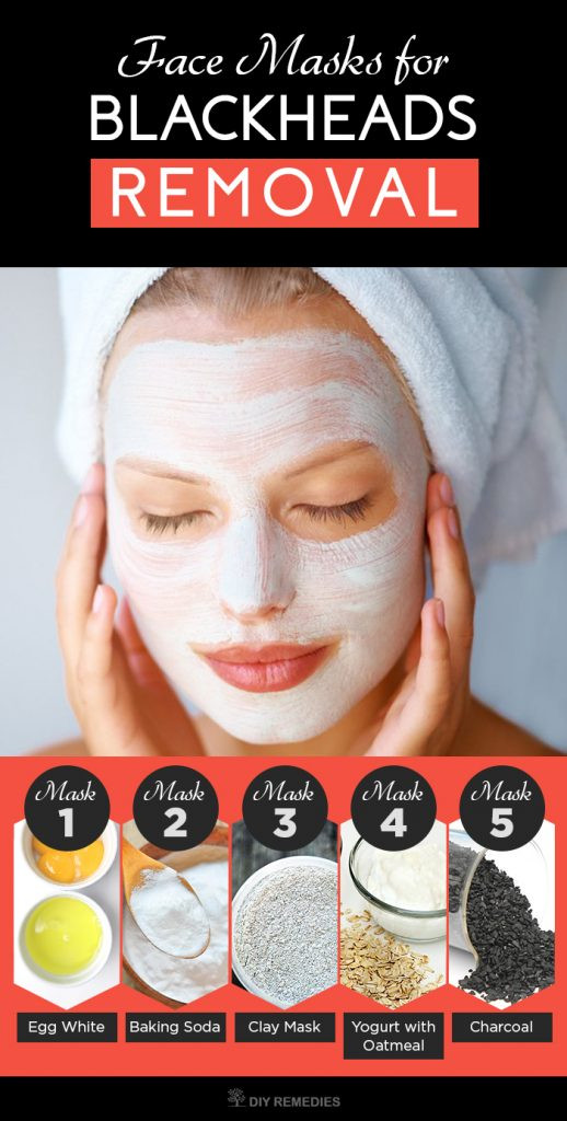 Best ideas about Blackhead Mask DIY . Save or Pin 5 Best Face Masks for Blackheads Removal Now.