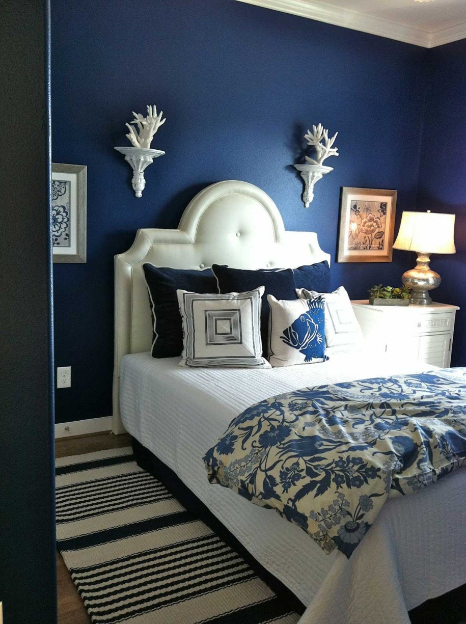 Best ideas about Blue And White Bedroom . Save or Pin 50 Best Bedrooms With White Furniture for 2019 Now.