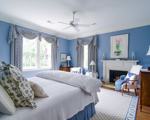 Best ideas about Blue And White Bedroom . Save or Pin Blue And White Bedroom Home Design Ideas Now.