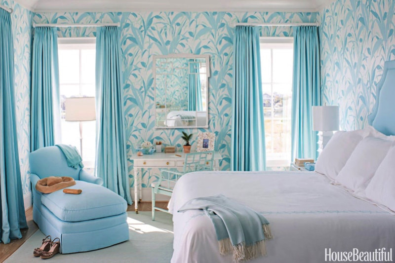 Best ideas about Blue And White Bedroom . Save or Pin Blue and White Interiors Now.