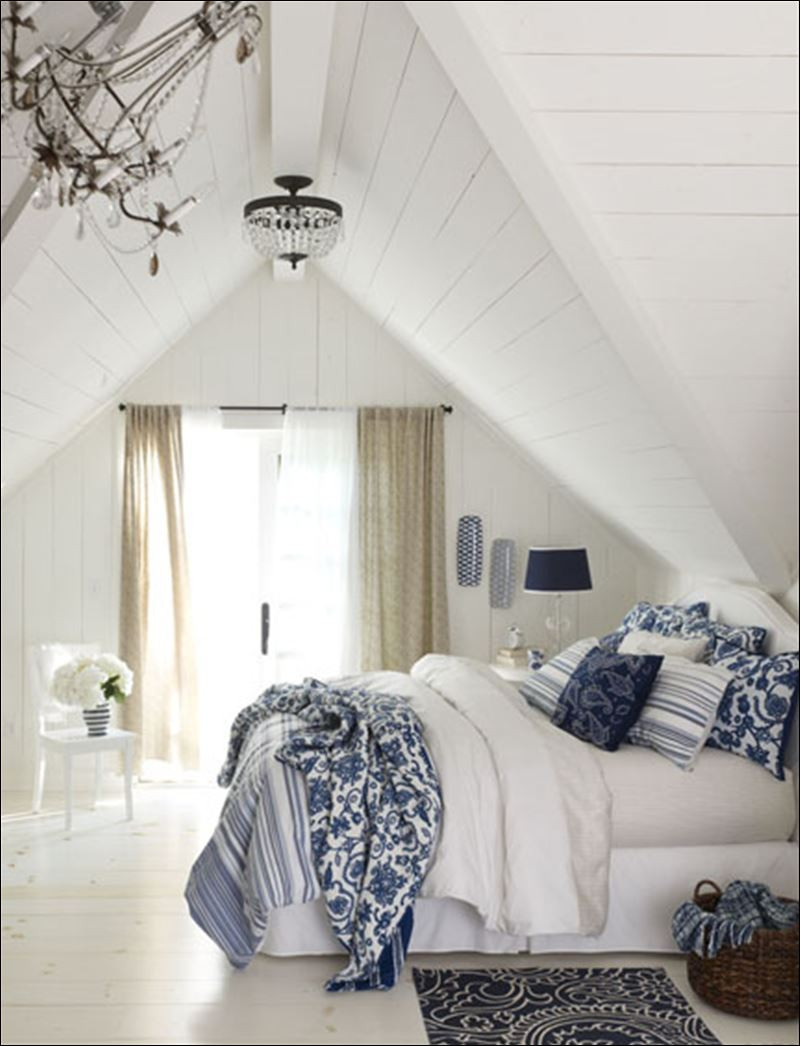 Best ideas about Blue And White Bedroom . Save or Pin Decorating Your Home With Classic Blue And White Toledo Now.