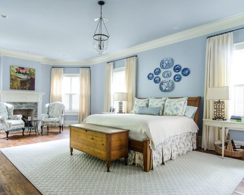 Best ideas about Blue And White Bedroom . Save or Pin Blue And White Bedroom Now.