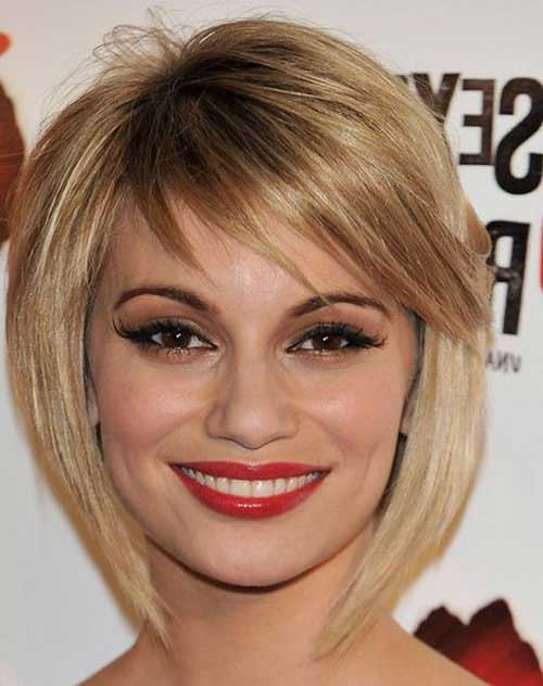 Best ideas about Bob Hairstyles With Side Bangs . Save or Pin 25 Short Layered Bob Hairstyles Now.