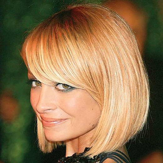 Best ideas about Bob Hairstyles With Side Bangs . Save or Pin This Seasons Best Short Hairstyles For Round Faces Women Now.