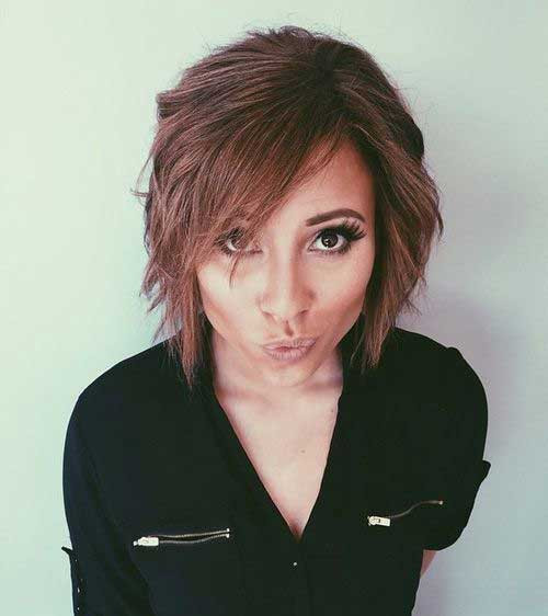 Best ideas about Bob Hairstyles With Side Bangs . Save or Pin Pretty Short Bob Hairstyles with Side Swept Bangs Now.