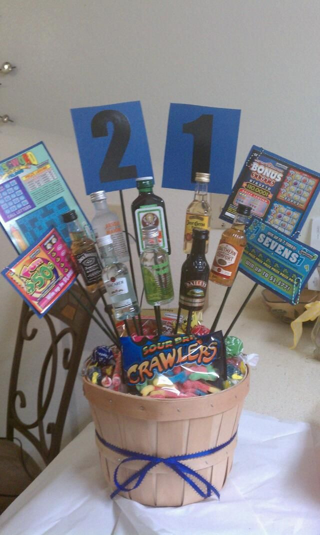 Best ideas about Boy Birthday Gifts Ideas . Save or Pin 21st birthday present for a boy yummy ness Now.