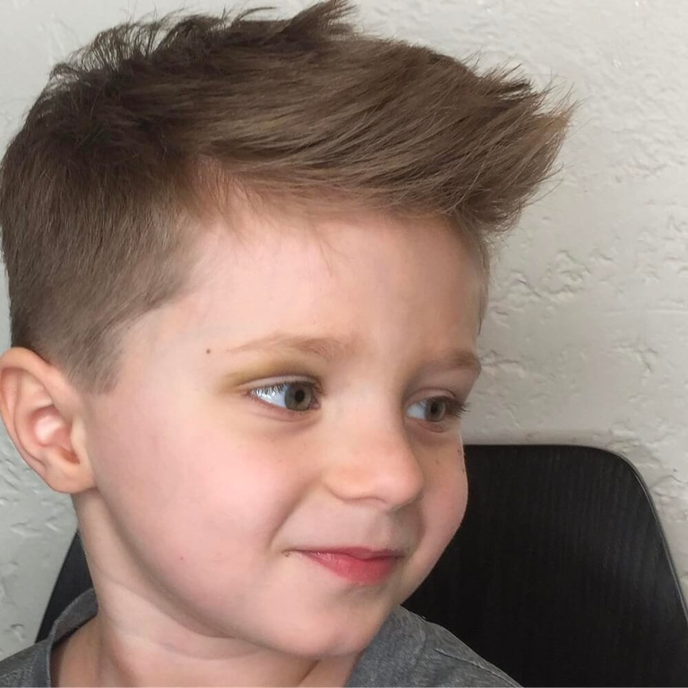 Best ideas about Boys Hairstyle . Save or Pin 31 Cutest Boys Haircuts for 2018 Fades Pomps Lines & More Now.