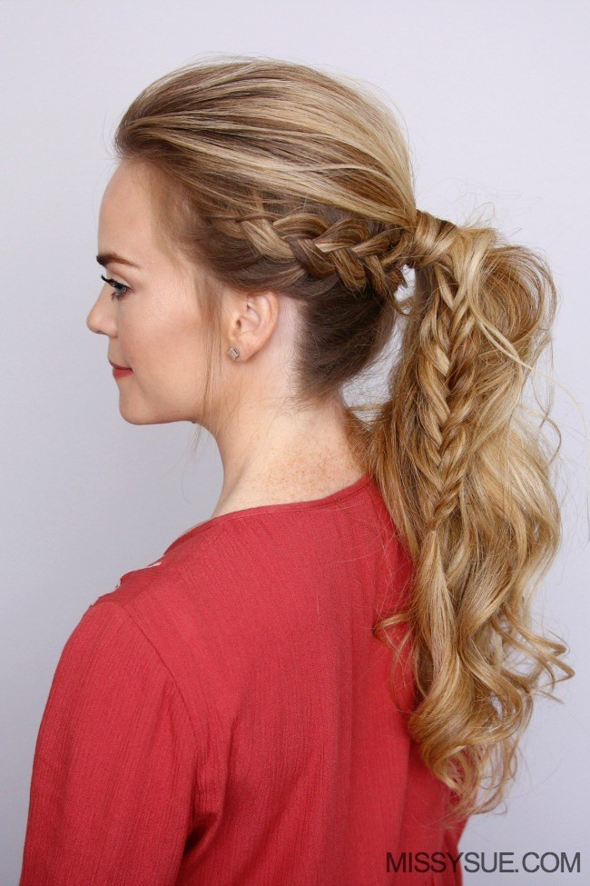 Best ideas about Braid Ponytail Hairstyles . Save or Pin mohawk ponytail Archives Now.