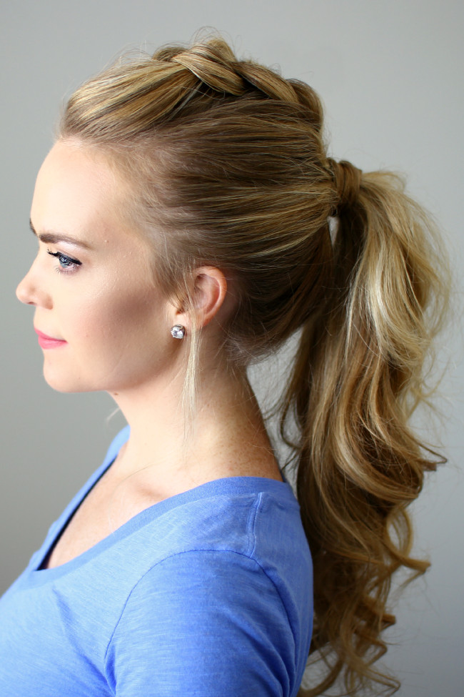 Best ideas about Braid Ponytail Hairstyles . Save or Pin Effortless Messy Ponytail Hairstyles Now.