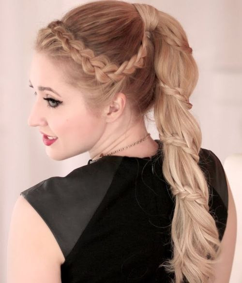Best ideas about Braid Ponytail Hairstyles . Save or Pin Braided Ponytail Hairstyles Now.