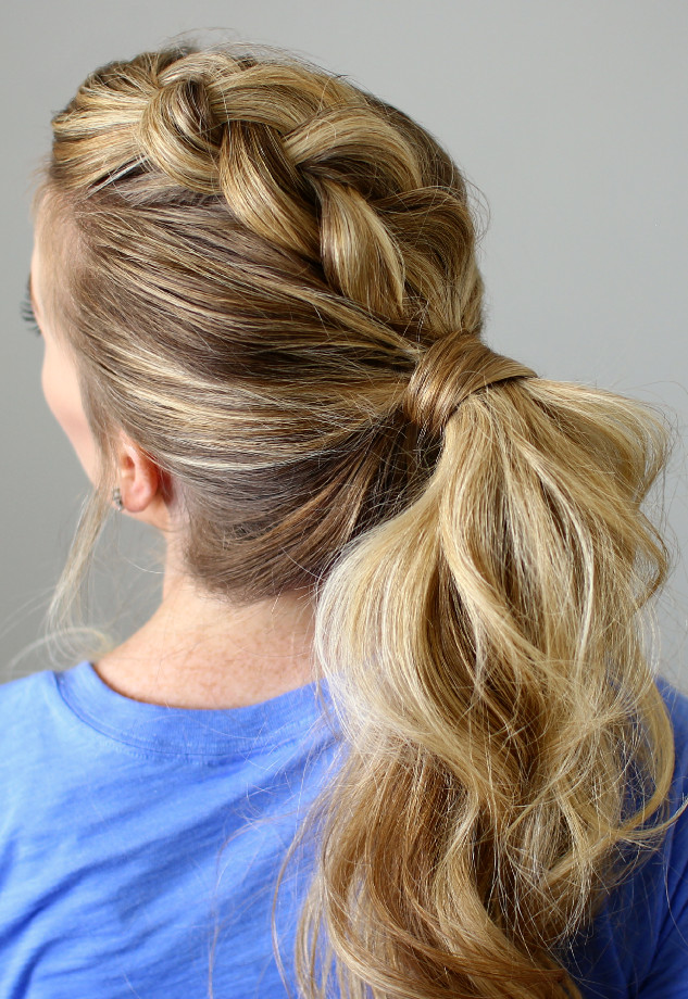 Best ideas about Braid Ponytail Hairstyles . Save or Pin 30 Braided Mohawk Styles That Turn Heads Now.