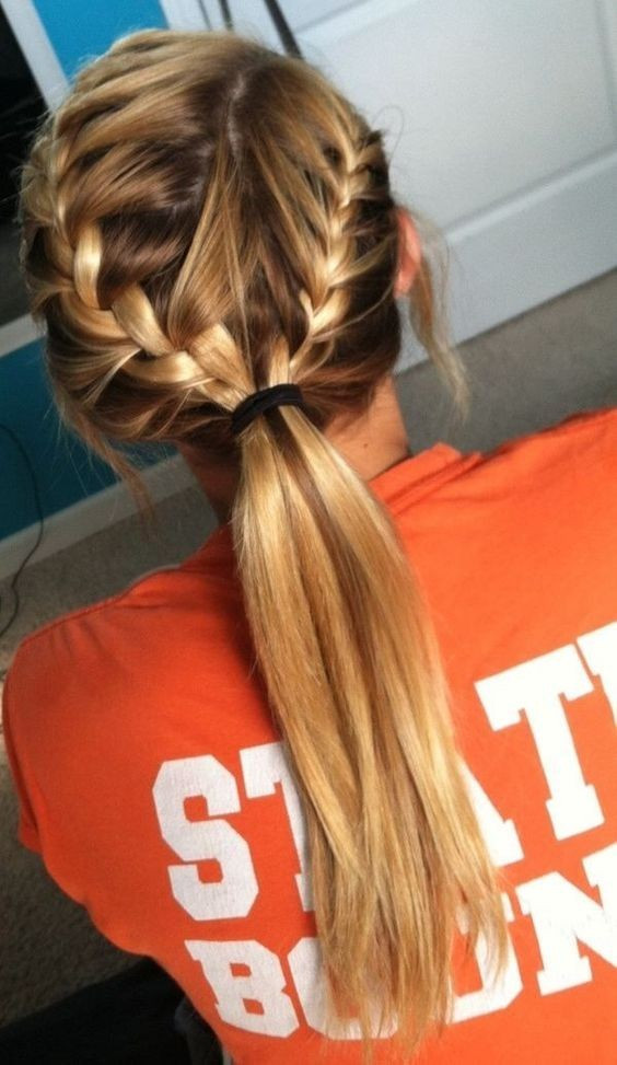 Best ideas about Braid Ponytail Hairstyles . Save or Pin 10 Super Trendy Easy Hairstyles for School PoPular Haircuts Now.